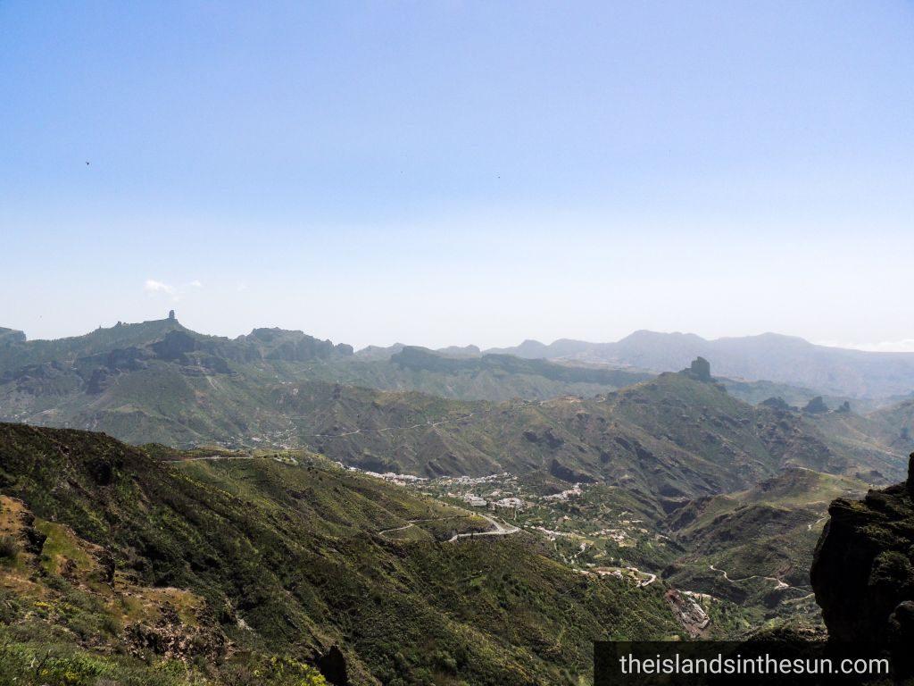 Tejeda Gran Canaria - Mirador Degollada de las Paloma