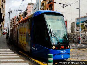 Trikk metro tram Santa Cruz de Tenerife