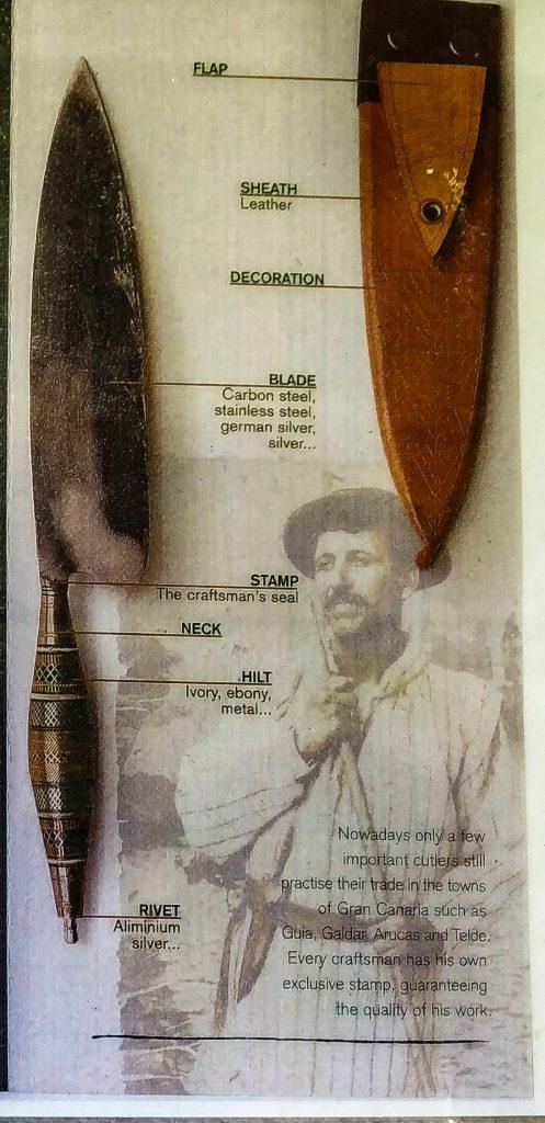 Den kanariske kniven Naife www.theislandsinthesun.com