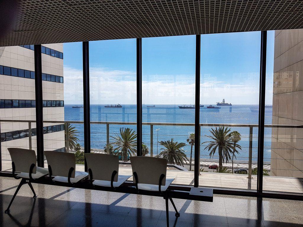 Utsikt fra Venterom Hospital Insular - Sykehushistorier - www.theislandsinthesun.com
