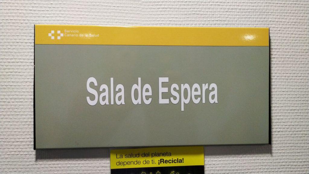 Venterom spansk sykehus