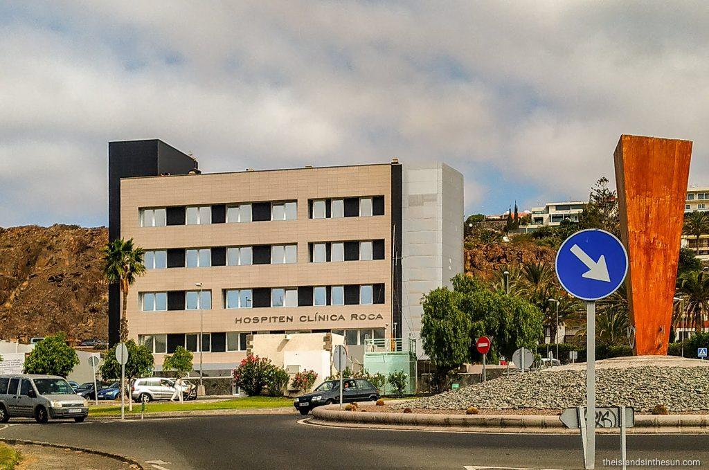 Sykehus i San Agustin - Hospiten Clínica Roca Gran Canaria www.theislandsinthesun.com