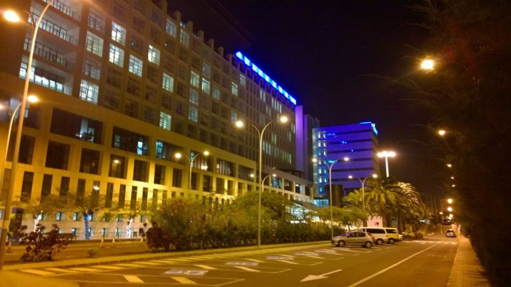 Innleggelse Hospital Insular i julepynt