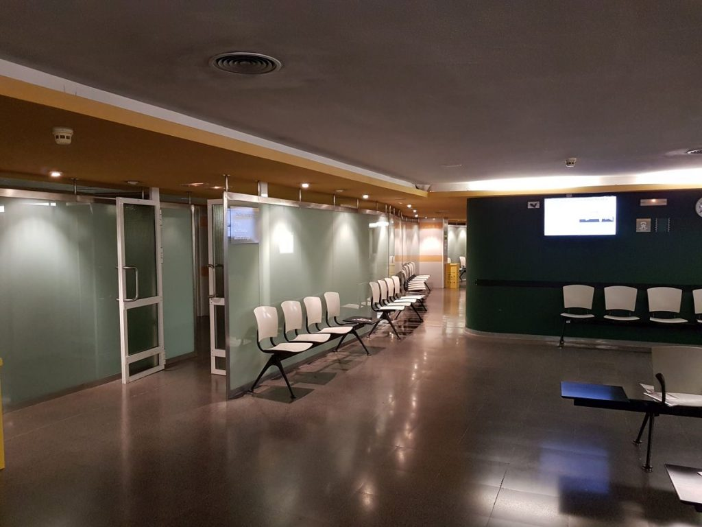 Legetimer Venterom Hospital Insular