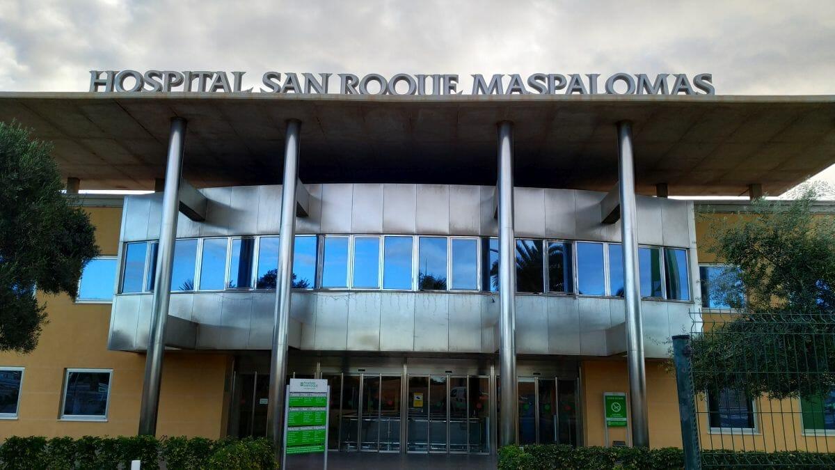 Innleggelse på Hospital San Roque Gran Canaria