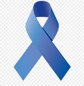 Urolog - prostatakreft blå sløyfe