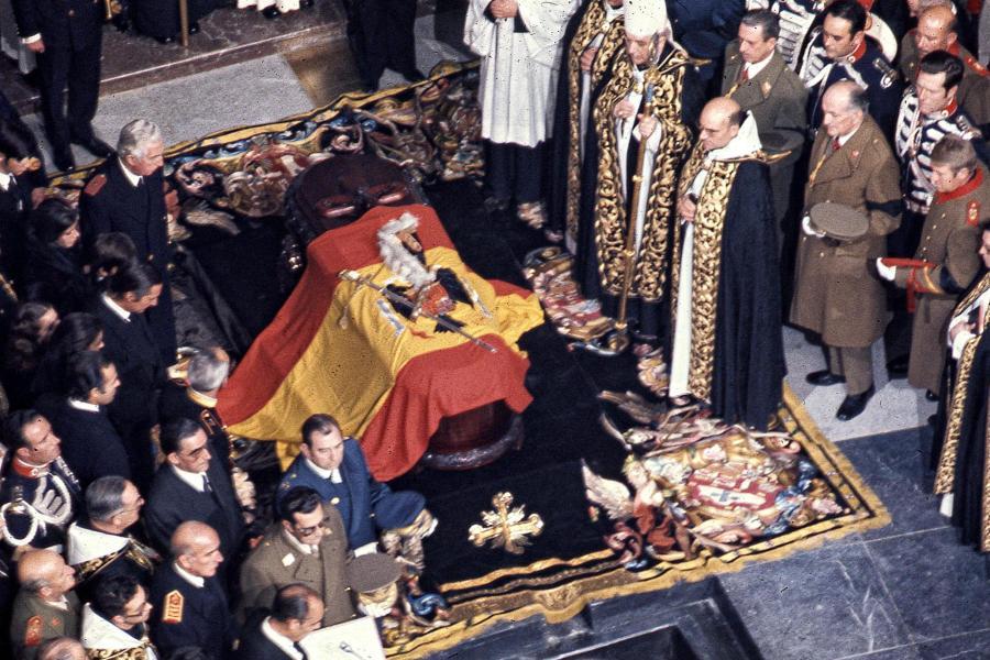 Francos begravelse nummer to