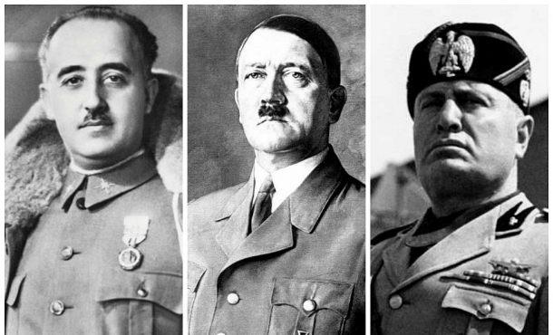 Franco Hitler Mussolini